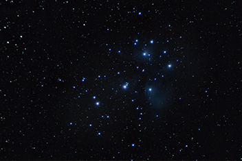 Messier 45 (The Pleiades Cluster)