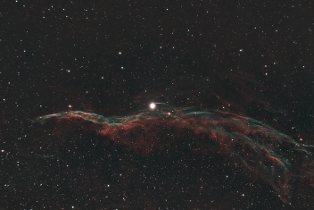 NGC 6960 (Veil Nebula or The Witch's Broom)