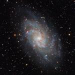 Messier 33 The Triangulum Galaxy