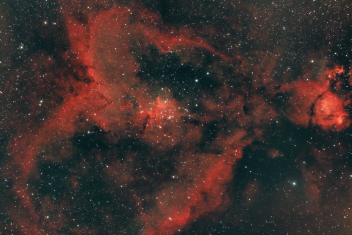 IC 1805 (The Heart and Fish Head Nebula)